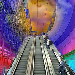 """фото """"escalator"""""""