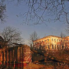 "photo ""Manor ""Grebnevo"". Ruins."""
