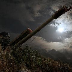 """фото """"Ночь над бывшим полем боя"""""""