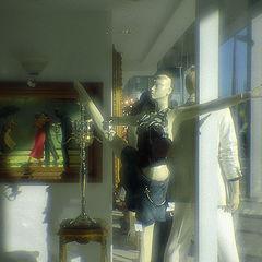 "photo ""Dances behind glass"""