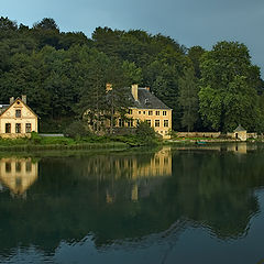 "photo ""Silent evening at lake..."""