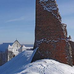 "photo ""Ancient fortress in Novogrudok"""