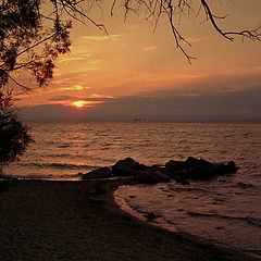 "photo ""Prayer at Aegean Sea"""