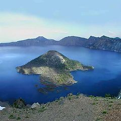 "photo ""Crater Lake. Oregon"""