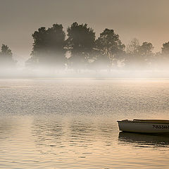 "photo ""Misty morning in the Lake"""