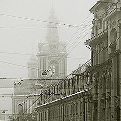 "photo ""Moscow. In the Basmannaja street"""