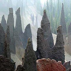 "photo """"Pinnacles"". Oregon"""
