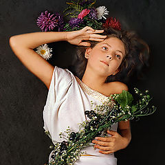 """photo """"with Flowers"""""""