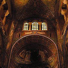 """photo """"Basilica in Ravenna"""""""