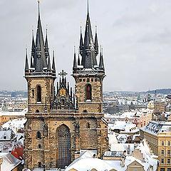 """photo """"Winter in Prague"""""""