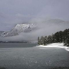 """photo """"Mountain lake"""""""