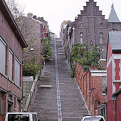 "фото ""Улица-лестница (407 ступенек)"""