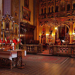"photo ""In a Lvov Church"""