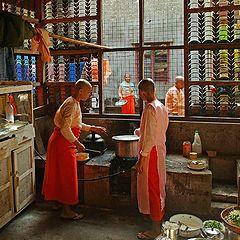 """photo """"Nunnerys kitchen"""""""