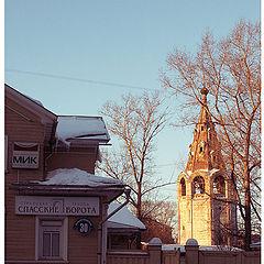 "photo ""Little etude of russian frosty evening"""