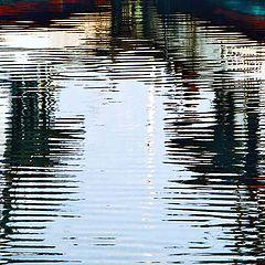 "фото ""Brushstrokes in the sea..."""