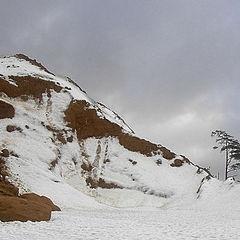 "photo ""Winter on sandy hills"""
