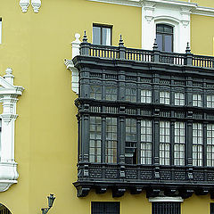 """фото """"Back and white balconies"""""""