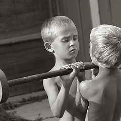 "photo ""Mirror brothers"""