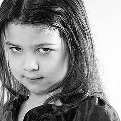 "фото ""Про серьезную девочку"""