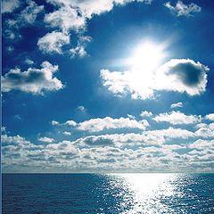 "photo ""The dark blue sea"""