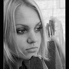 """photo """"Unhappy girl"""""""