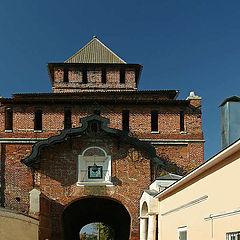 "photo ""Gate of the Kolomna Kremlin"""