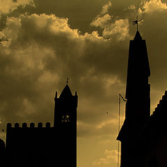 """фото """"Castle and church"""""""