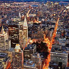 """фотоальбом """"Прогулка по Нью-Йорку"""""""