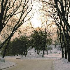 """фото """"Морозный закат..."""""""