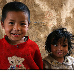 """photo """"Children in Katmandu"""""""