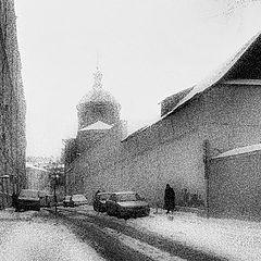"photo ""February, St.Peter monastery"""