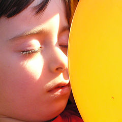 """photo """"Dreaming With A Balloon"""""""
