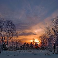 """photo """"February morning picture"""""""