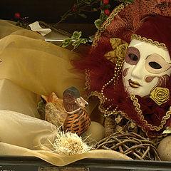 """photo """"Venice mask"""""""