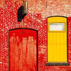 """photo """"Red Door"""""""