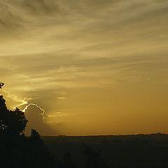 "фото ""Windy sunset"""