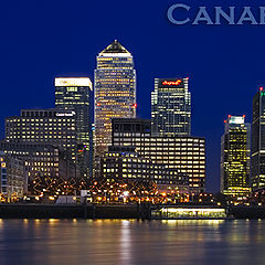 "photo ""Canary Wharf- London 2006"""
