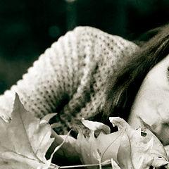 """фото """"She in  Fall..."""""""