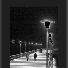 "photo ""Walk among black lanterns"""