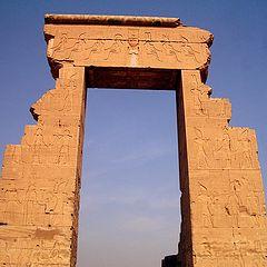 "фото ""ДревнеЕгипетская арка"""