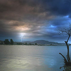 "фото ""Dark Stormy night"""