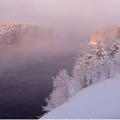 "photo ""Morning of northern river."""