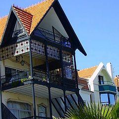 "photo ""Typical Cascais houses"""