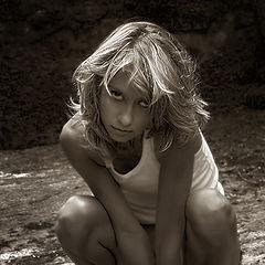 """фото """"Guilty little girl"""""""