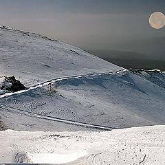 """фото """"На Хермоне снег."""""""