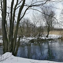 """photo """"March. The river"""""""
