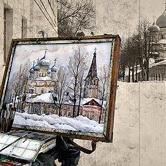 """фото """"Зимний этюд."""""""