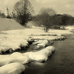 "photo ""Snow and Water"""