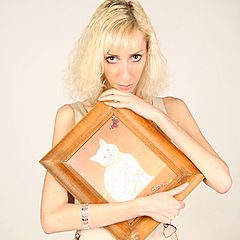 "photo ""The white cat..."""